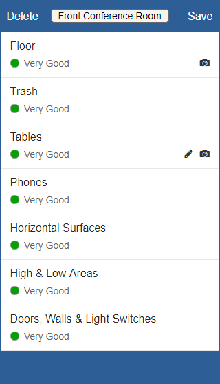 CleanQC Ratings and Weighting Screenshot
